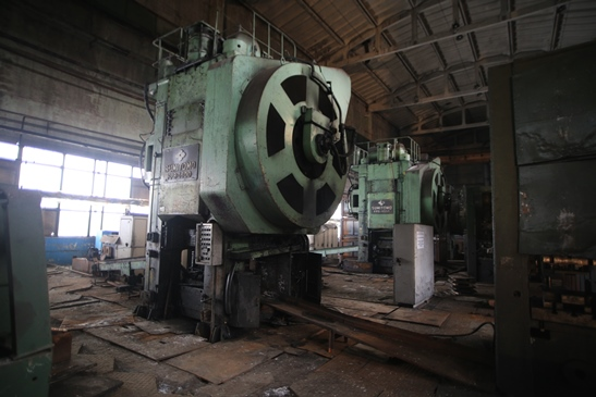 Hot Forging Press 1600 TON Sumitomo