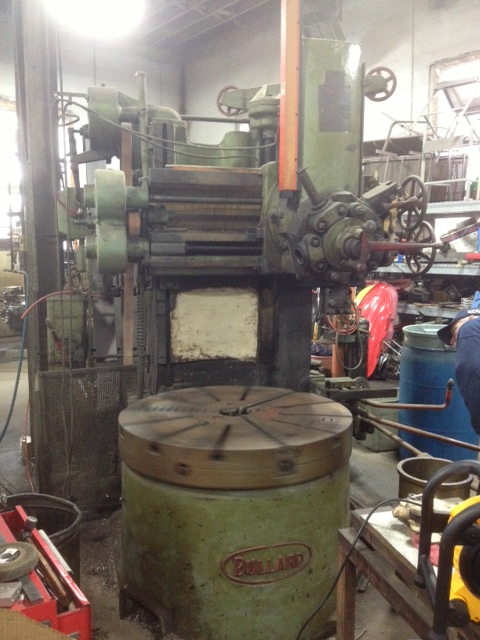 "Bullard 42"" Vertical Turning Lathe"