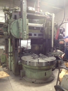 "King 60"" Vertical Turning Lathe"